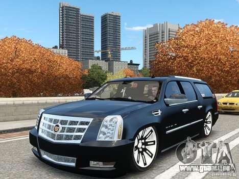 Cadillac Escalade ESV 2012 DUB pour GTA 4
