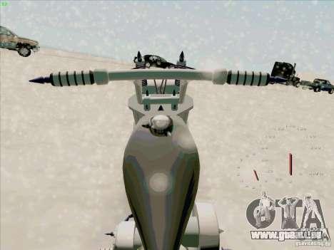 Harley pour GTA San Andreas vue de droite