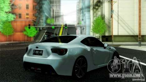 Subaru BRZ v2 für GTA San Andreas linke Ansicht