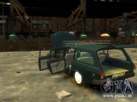 GAZ 310221 Wagon pour GTA 4 est un droit