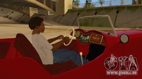 MG Augest für GTA San Andreas Innenansicht