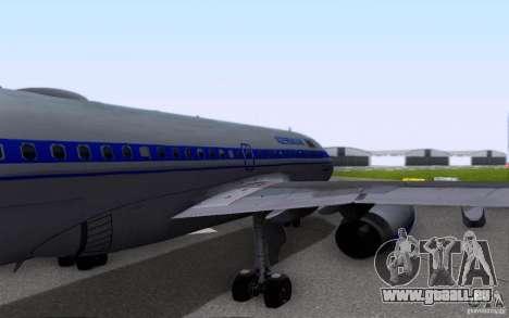 Airbus A-319 Azerbaijan Airlines für GTA San Andreas Seitenansicht
