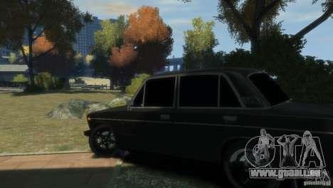 VAZ 2106 pour GTA 4 Vue arrière
