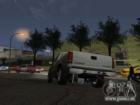 Chevorlet Silverado 2000 für GTA San Andreas obere Ansicht