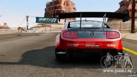 Ford Mustang 2010 GT1 für GTA 4 hinten links Ansicht