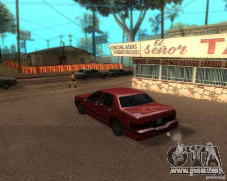 ENBSeries pour moyen- et haute puissance PC pour GTA San Andreas deuxième écran