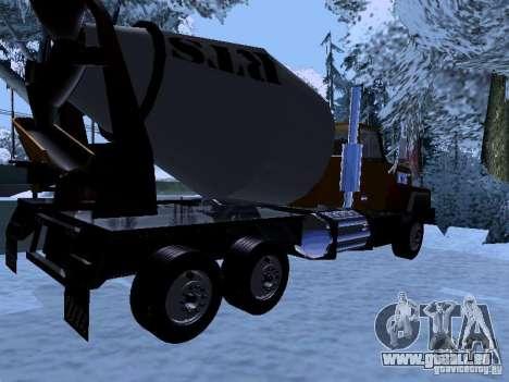 RTS 420 Šatalka pour GTA San Andreas vue de droite