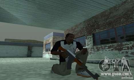 Le nouveau AK-47 pour GTA San Andreas deuxième écran