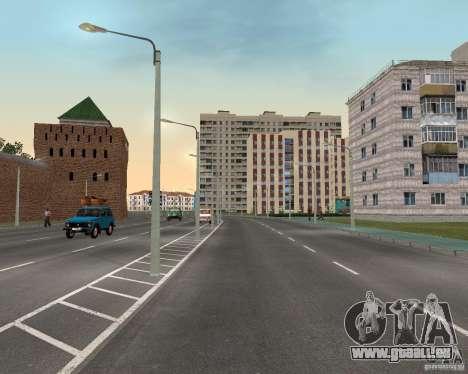 Nižegorodsk v0. 1 BETA für GTA San Andreas dritten Screenshot