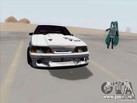 Ford Mustang Drift für GTA San Andreas Rückansicht