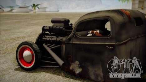 Rat Rod pour GTA San Andreas laissé vue