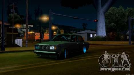 VAZ 2107 Bekämpfung Classics für GTA San Andreas linke Ansicht