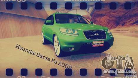 Hyundai Santa Fe 2009 für GTA San Andreas