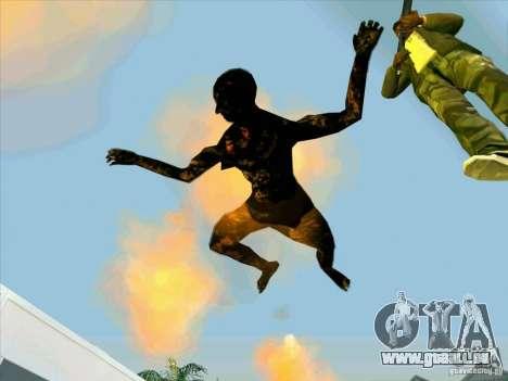 Corps calcinés pour GTA San Andreas deuxième écran
