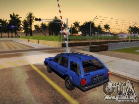 Nissan Bluebird Wagon pour GTA San Andreas laissé vue
