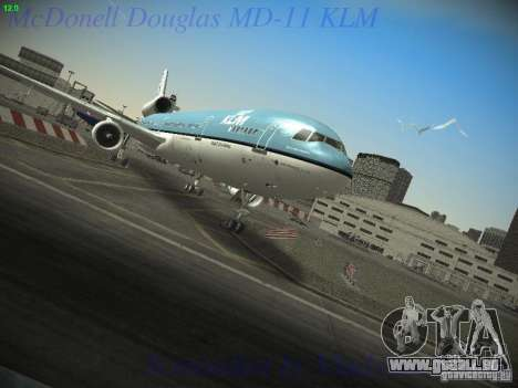 McDonnell Douglas MD-11 KLM Royal Dutch Airlines pour GTA San Andreas