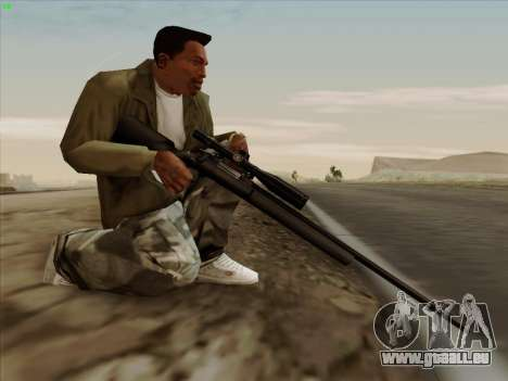 Remington 700 für GTA San Andreas her Screenshot