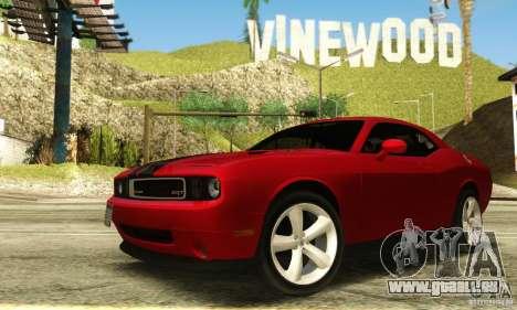 Dodge Challenger SRT-8 für GTA San Andreas