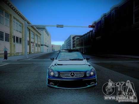 Mercedes-Benz CLK 55 AMG Coupe pour GTA San Andreas vue de côté