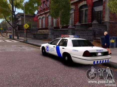 Ford Crown Victoria Homeland Security für GTA 4 rechte Ansicht