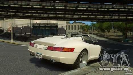 Comet Speedster pour GTA 4 est une gauche