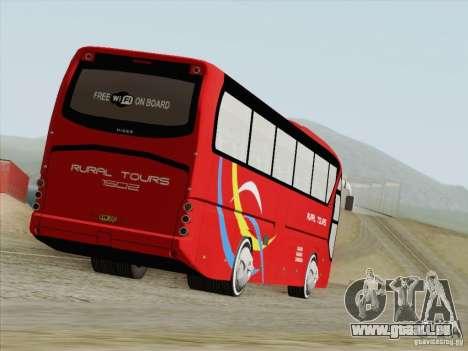 Neoplan Tourliner. Rural Tours 1502 für GTA San Andreas zurück linke Ansicht