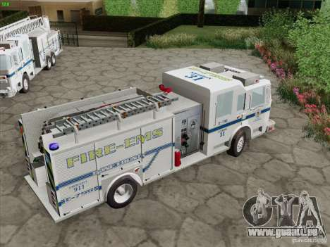 Pierce Pumpers. B.C.F.D. FIRE-EMS für GTA San Andreas Innen