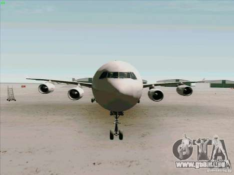 Airbus A-340-600 Iberia pour GTA San Andreas vue de côté