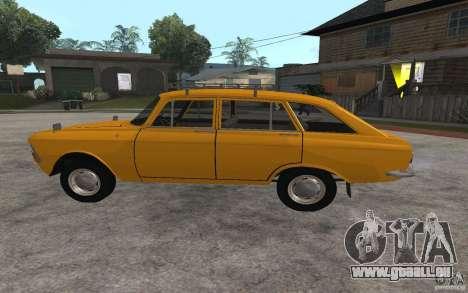 IZH 2125 Gorynych pour GTA San Andreas laissé vue