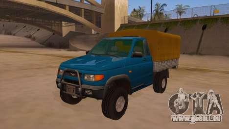 UAZ-2360 für GTA San Andreas