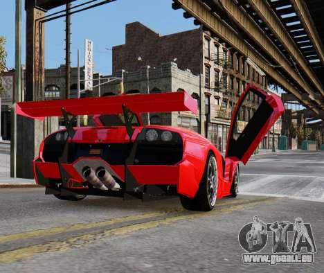 Lamborghini Murcielago RSV FIA GT1 für GTA 4 linke Ansicht
