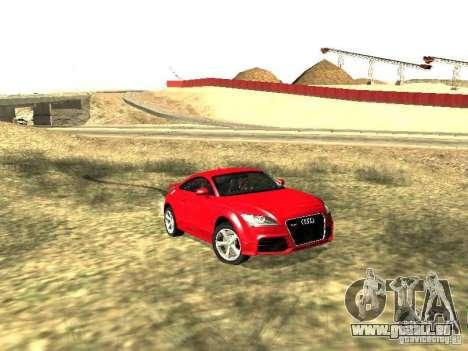 Audi TT-RS Coupe 2011 v.2.0 pour GTA San Andreas laissé vue