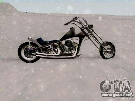 Harley pour GTA San Andreas vue intérieure