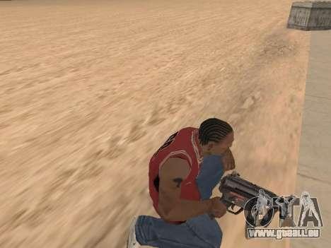 MP5K pour GTA San Andreas cinquième écran