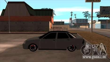 Lada Priora pour GTA San Andreas vue de droite