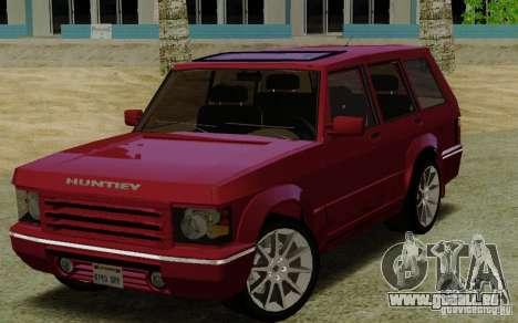 Huntley Freelander pour GTA San Andreas