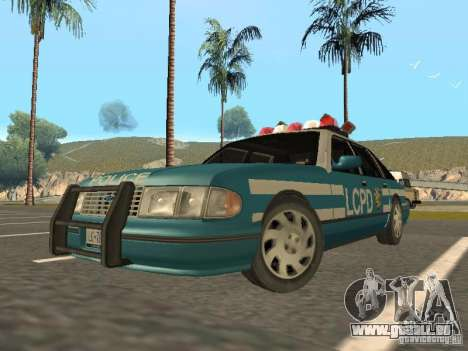 HD Police from GTA 3 für GTA San Andreas linke Ansicht