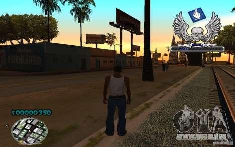 C-HUD awk William für GTA San Andreas