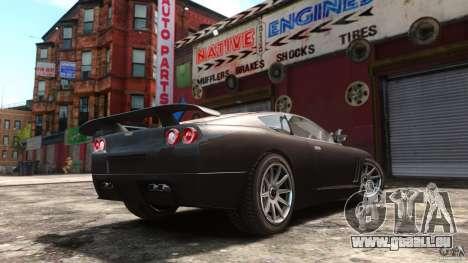 Super GTR Final pour GTA 4 est une gauche