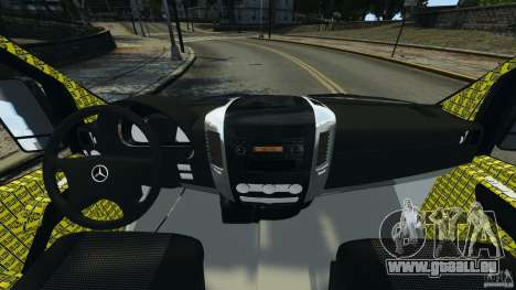 Mercedes-Benz Sprinter Police [ELS] pour GTA 4 Vue arrière