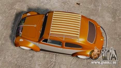 Volkswagen Fusca Edit für GTA 4 rechte Ansicht