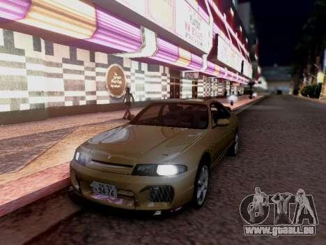 Nissan Skyline ECR33 pour GTA San Andreas vue de droite