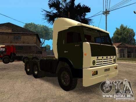 KAMAZ 5410 für GTA San Andreas Innenansicht