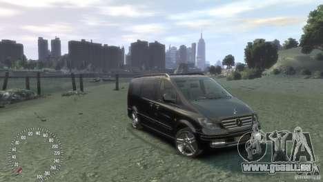 Mercedes-Benz Vito 2013 pour GTA 4 est une gauche