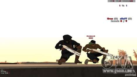 New Chrome Guns v1.0 für GTA San Andreas her Screenshot