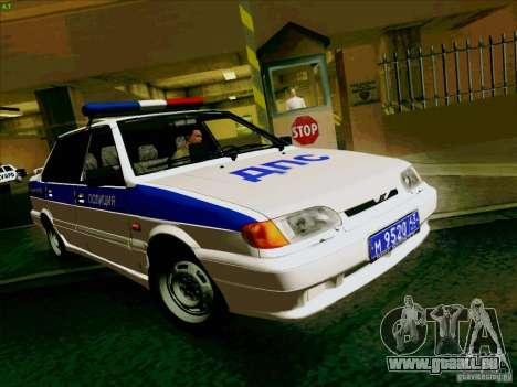 VAZ-2115-Polizei für GTA San Andreas