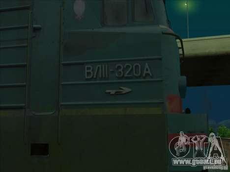 Vl11-320 pour GTA San Andreas vue arrière