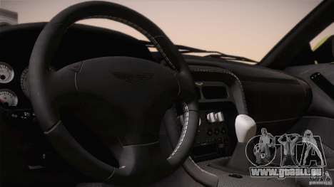 Aston Martin DB7 Zagato 2003 pour GTA San Andreas