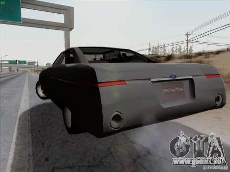 Ford Fortynine für GTA San Andreas zurück linke Ansicht