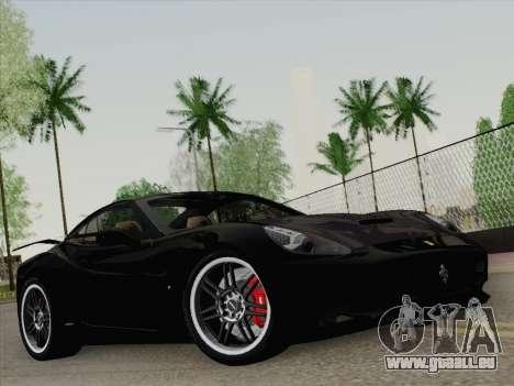 Ferrari California für GTA San Andreas Motor